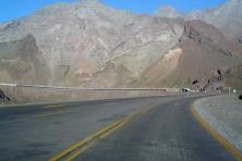 Cordilheira dos Andes - Paso Cristo Redentor