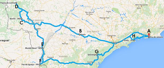 2 brasileiros, 2 italianos e 5000km pelo Brasil - La Reunion - 16 dias Viaje de Carro