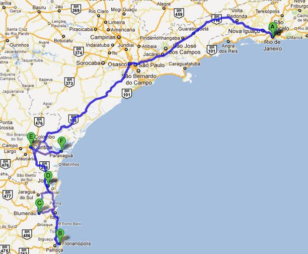 Paraná e Santa Catarina – 11 dias Viaje de Carro