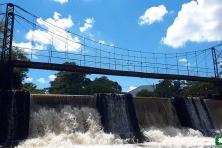 Parque dos Saltos - ponte Pênsil