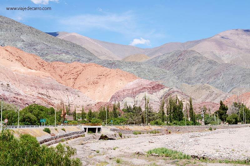 Purmamarca - Cerro de los Siete Colores
